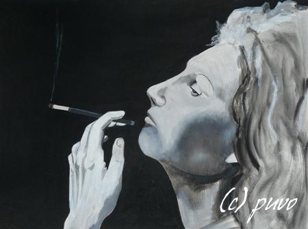 Rauchend