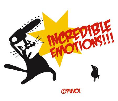 Unglaubliche Emotionen beim Kampf der Wilden Bestien!!! T-Shirtmotiv von puvo productions