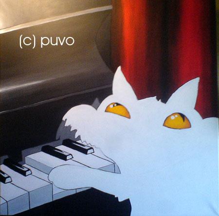 """""""Pianokatze"""", Schritt für Schritt von puvo productions"""