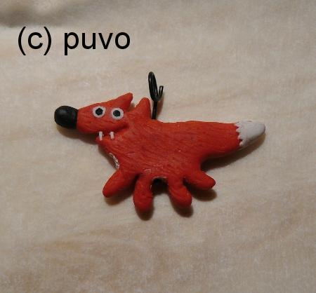 Kettenanhänger aus Fimo von puvo productions
