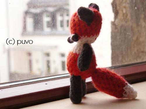 gehäkelter Fuchs von puvo productions