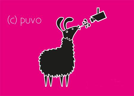 Shirtmotiv für das Campusfest 2011 - design von puvo productions