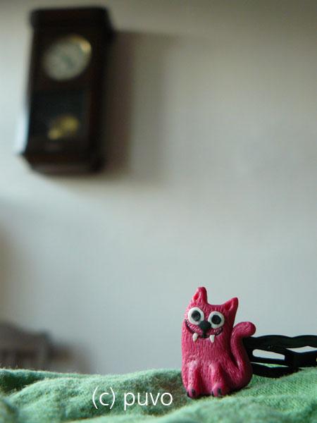 Katzen-Haarspange von puvo productions