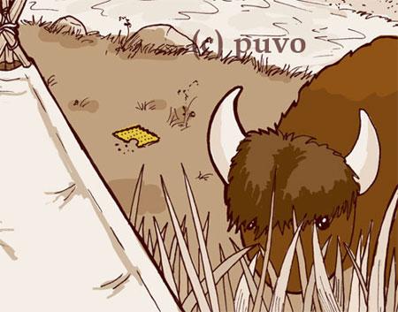 Tipi. Ausschnitt einer Illustration von puvo productions