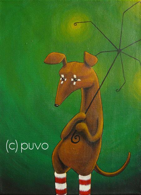 Karneval 2, Acrylmalerei von puvo productions