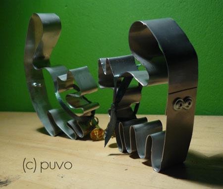 Plätzchenkatzenformen von puvo productions