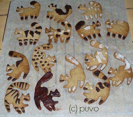 Plätzchenkatzenbande von puvo productions.
