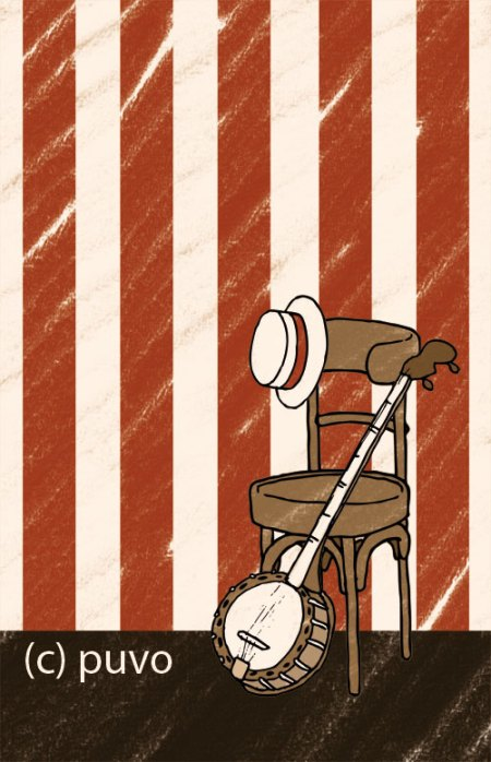 Dixieland. Illustration von puvo productions