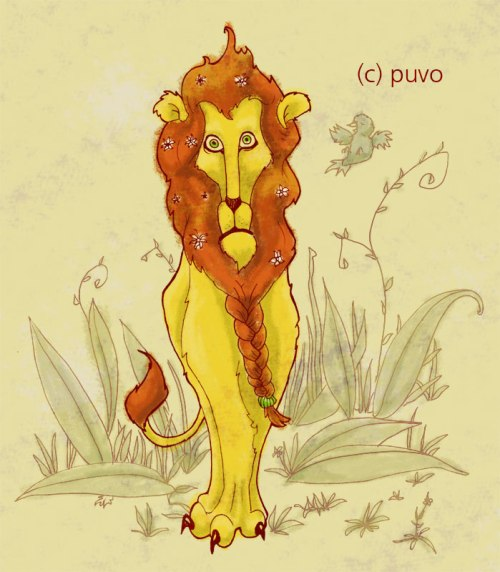 Dem König wird was eingeflüstert. Skizze von puvo productions