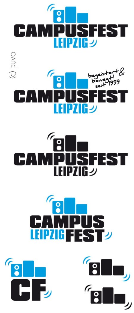 Logoentwurf Campusfest Leipzig