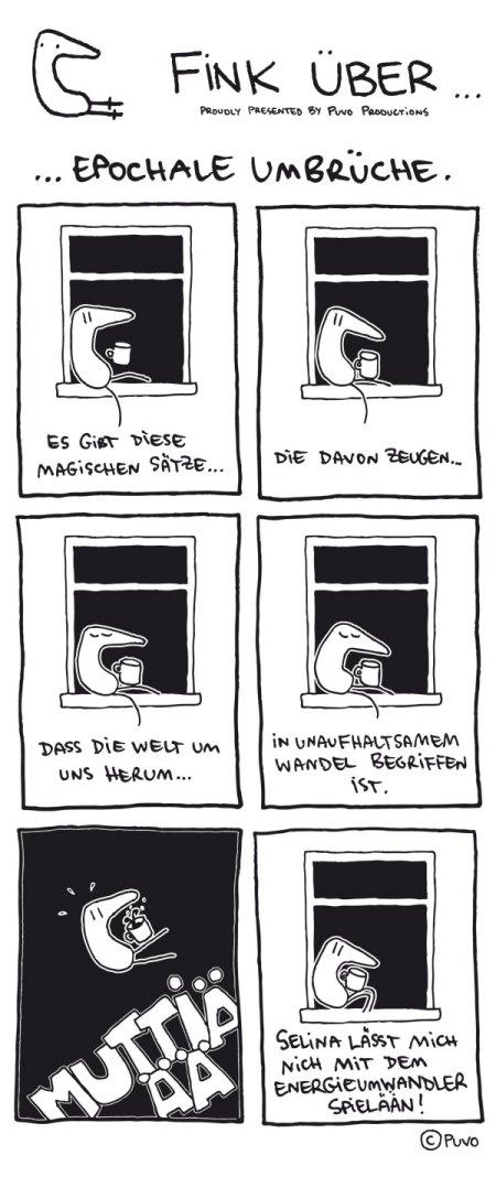 Fink über epochale Umbrüche.