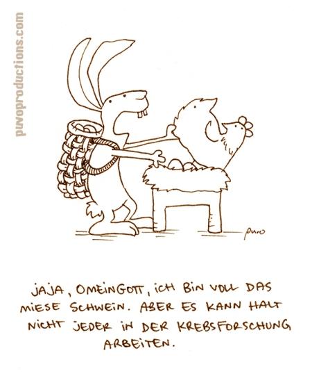 Mieses Schwein.