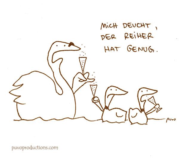 Reiher.