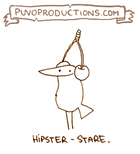 Hipster-Stare