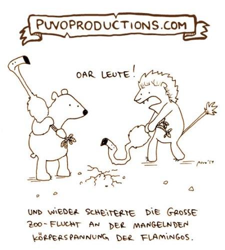 Der wöchentliche Cartoon - Körperspannung.