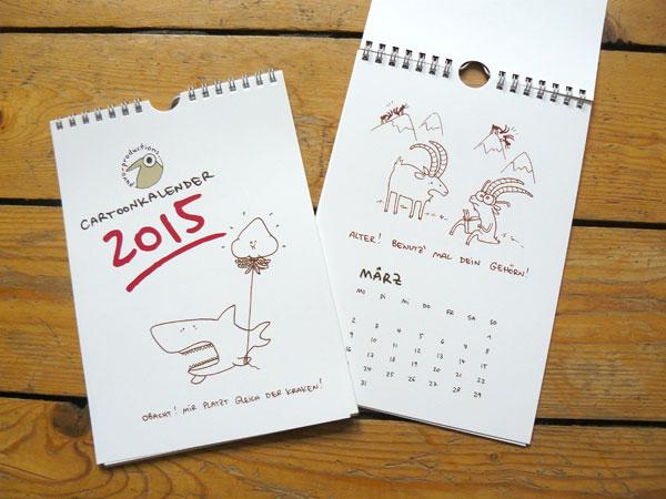 Cartoonkalender 2015