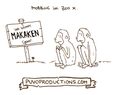 Mobbing im Zoo X.
