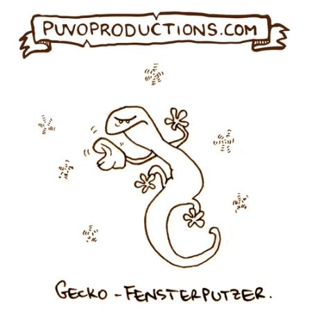 Gecko-Fensterputzer