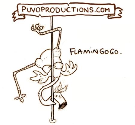 Flamingogo.