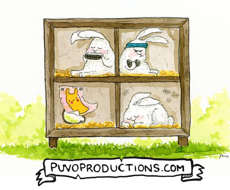 Kaninchenstall Puvo Productions