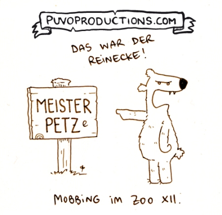 Mobbing im Zoo 12.