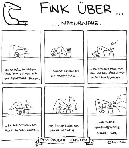 Fink über Naturnähe.