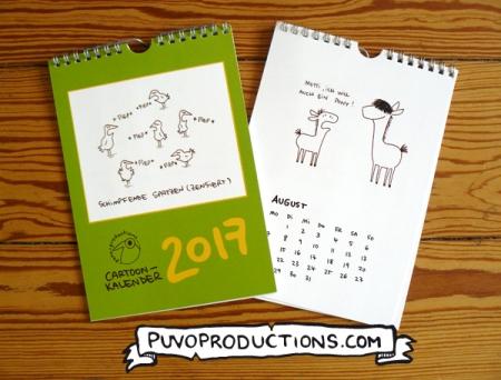 Cartoonkalender 2017