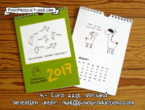 Cartoonkalender 2017