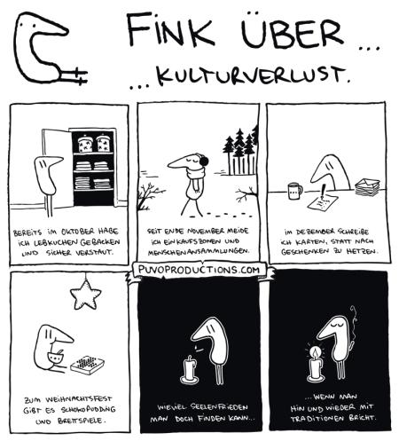 Fink über... Kulturverlust
