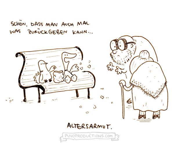 Altersarmut.
